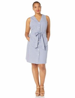 Rachel Roy Women's Plus Size Sabrina Button Front Dress