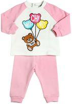 Moschino Bear Cotton Sweatshirt & Sweatpants