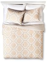 Threshold Blurred Lattice Comforter Set