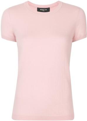Paule Ka Short-Sleeved Knitted Top
