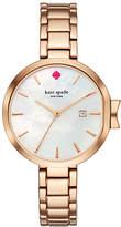 Kate Spade Rose gold park row watch