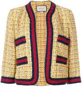 Gucci tweed jacket with Web