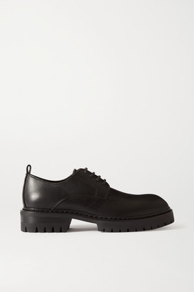 Ann Demeulemeester Leather Brogues - Black