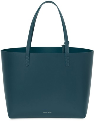 Mansur Gavriel Calf Large Tote - Midnight Blue