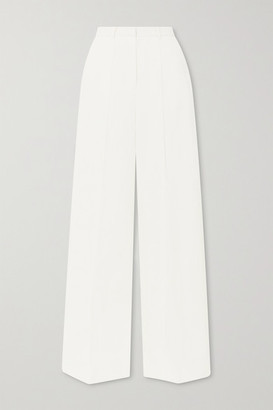 LOULOU STUDIO Reao Pleated Linen Wide-leg Pants - Cream