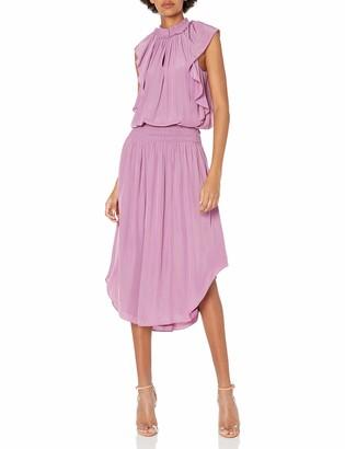 Ramy Brook Women's Wren Flutter Sleeve MIDI Dress