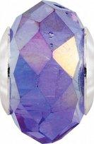 Persona Italian Glass Morning Light Violet Charm fits Pandora, Troll & Chamilia European Charm Bracelets