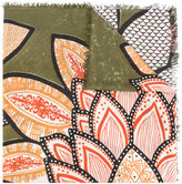 Hemisphere Floral print scarf