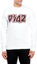 DSQUARED2 Contrast Print Sweatshirt