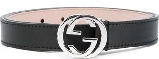 Gucci Kids logo buckle belt