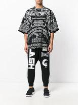 Kokon To Zai Poet long printed T-shirt - unisex - Cotton - M