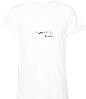Adiba Powerful White Tee