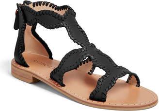Jack Rogers Jackie Flat Whipstitch Gladiator Sandals