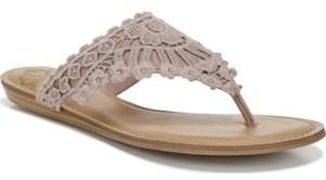 Fergalicious Samba Thong Flat Sandals Women's Shoes