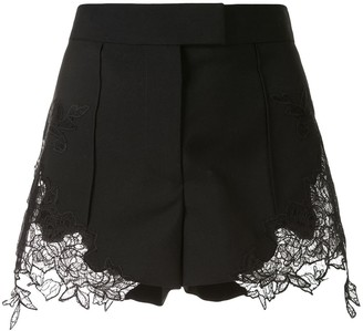 Vera Wang Lace Embellished Shorts