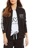 Peace Love World Mia Crew Neck Jacket
