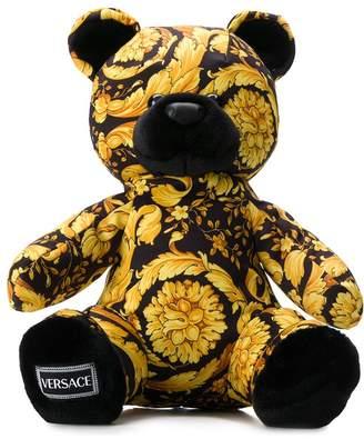 Versace Savage Barocco print teddy bear