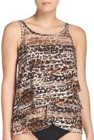 Miraclesuit Wild Side Mirage Underwire Tankini Top