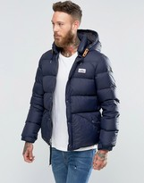 Penfield Bowerbridge Down Quilted Jacket Detatchable Hood