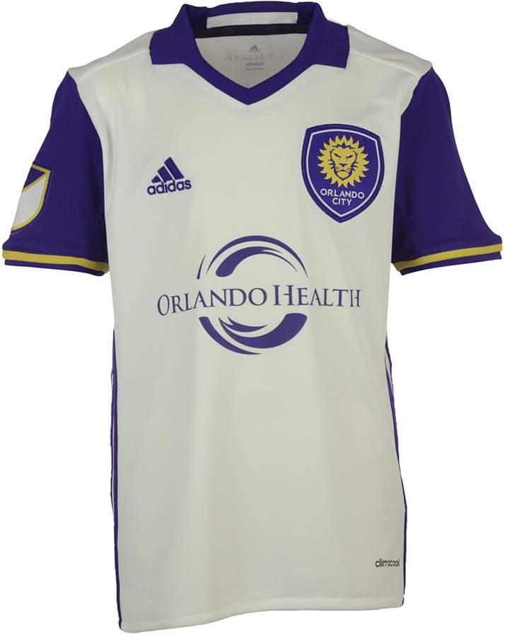 adidas Orlando City Sc Secondary Replica Jersey, Big Boys (8-20)