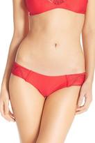 Luli Fama Weave Detail Bikini Bottoms