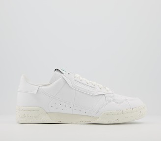 adidas Continental 80s 'Clean Classics' Trainers White Off White Green Sustainable