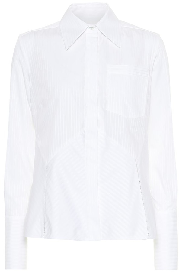 Victoria Victoria Beckham Striped cotton shirt