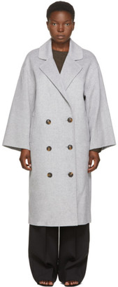 LOULOU STUDIO Grey Borneo Coat