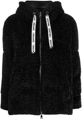 Ermanno Ermanno Crystal Signature Feather-Down Jacket