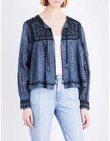 Free People Paisley-print cotton jacket