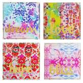 Jay Import Pink Coasters - Set of 4