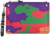 Moschino Logo plaque camouflage bag