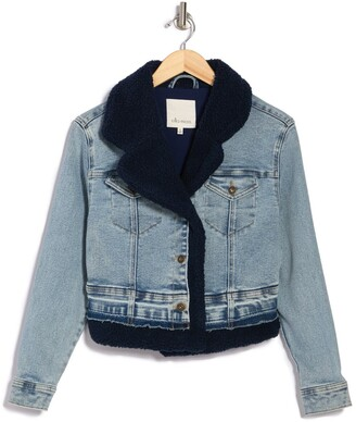 Ella Moss Mixed Denim Jacket