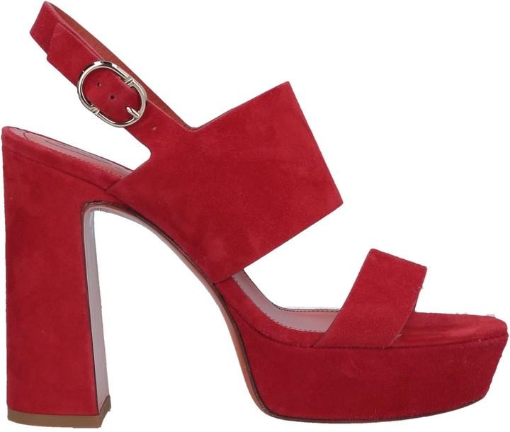 b716fc960a8 Santoni Red Women's Shoes - ShopStyle
