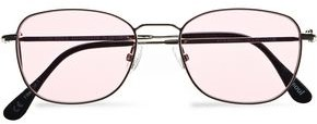 Andy Wolf Maria D-frame Silver Tone Sunglasses