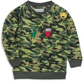 Sovereign Code Boys' Lennox Camouflage Sweatshirt