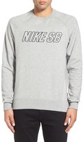 Nike Men's Sb 'Everett Reveal' Embroidered Sweatshirt