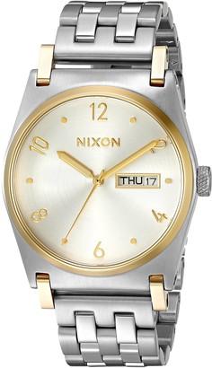 Nixon Women's A9541921-00 Jane Analog Display Japanese Quartz Silver Watch