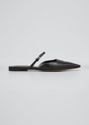 Jil Sander Square-Toe Ballerina Flat Mules
