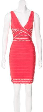 Herve Leger Kenna Bandage Dress