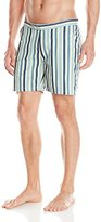 Reyn Spooner Men's Spooner Stripe Vintage 6 Inch Inseam Surf Swim Trunks