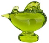 Baccarat Duck on Base Figurine