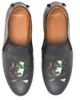 Givenchy Army Skull Skate Leather Sneakers