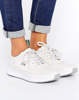 Lacoste Joggeur Premium Leather Off White Sneakers