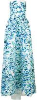 Monique Lhuillier printed ball gown - women - Silk - 6