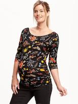 Old Navy Maternity Scoop-Back Tee