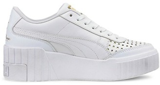 Puma Women's x Charlotte Olympia Cali Wedge Leather Platform Sneakers