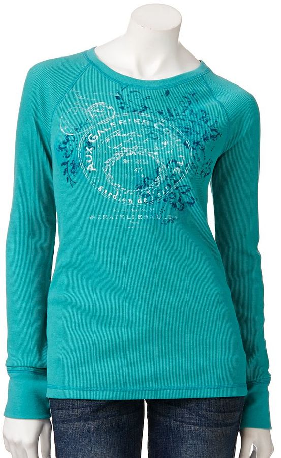 Sonoma life + style ® stamp thermal tee