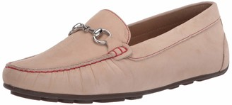 Driver Club Usa Women's Leather Made in Brazil Luxury Driving Loafer with Bit Buckle