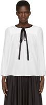 Marc Jacobs White Silk Blouse